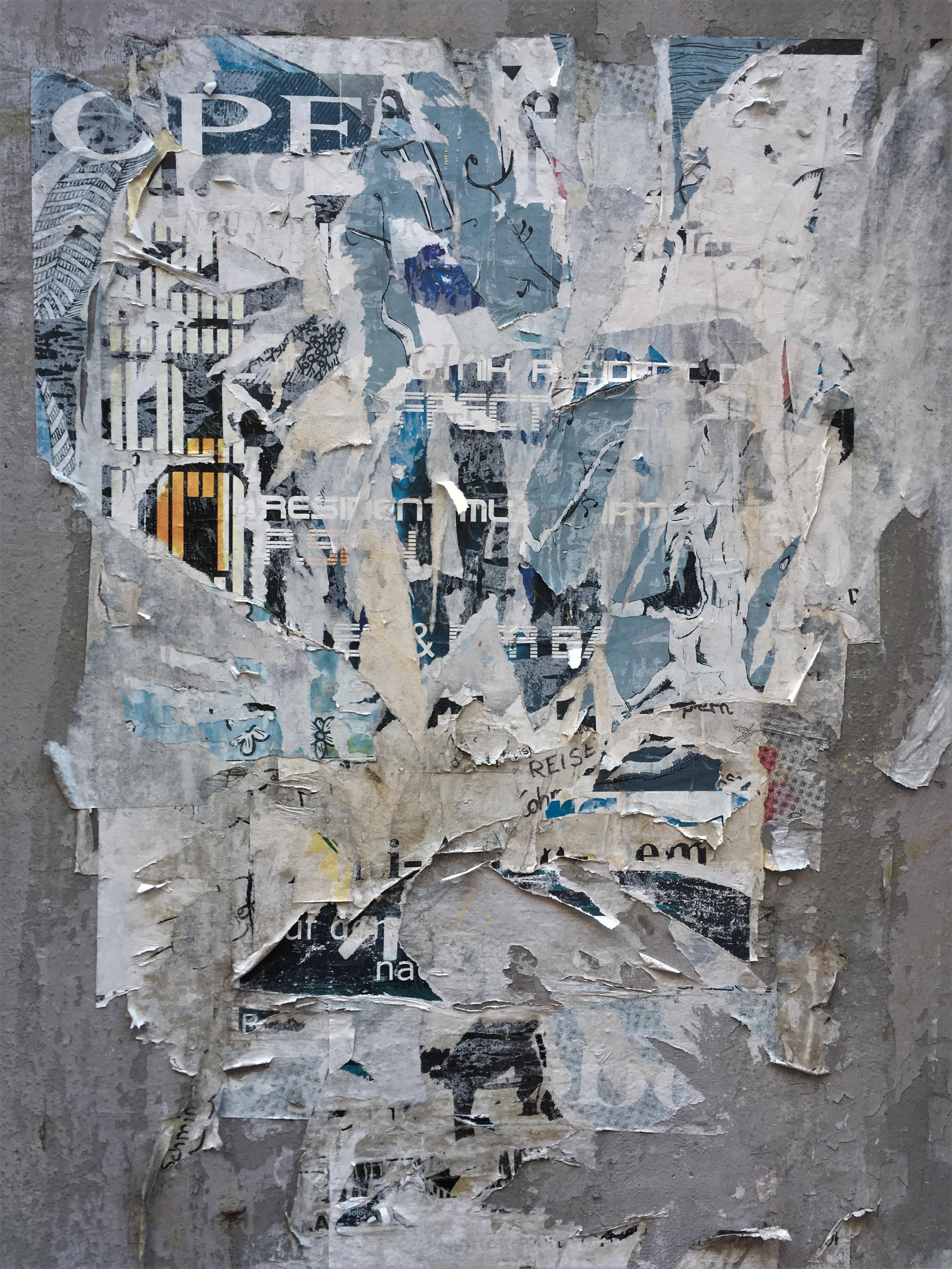 Poster & Plakate in der kleinen Ulrichstraße in Halle/Saale / (C) Marcus Pape