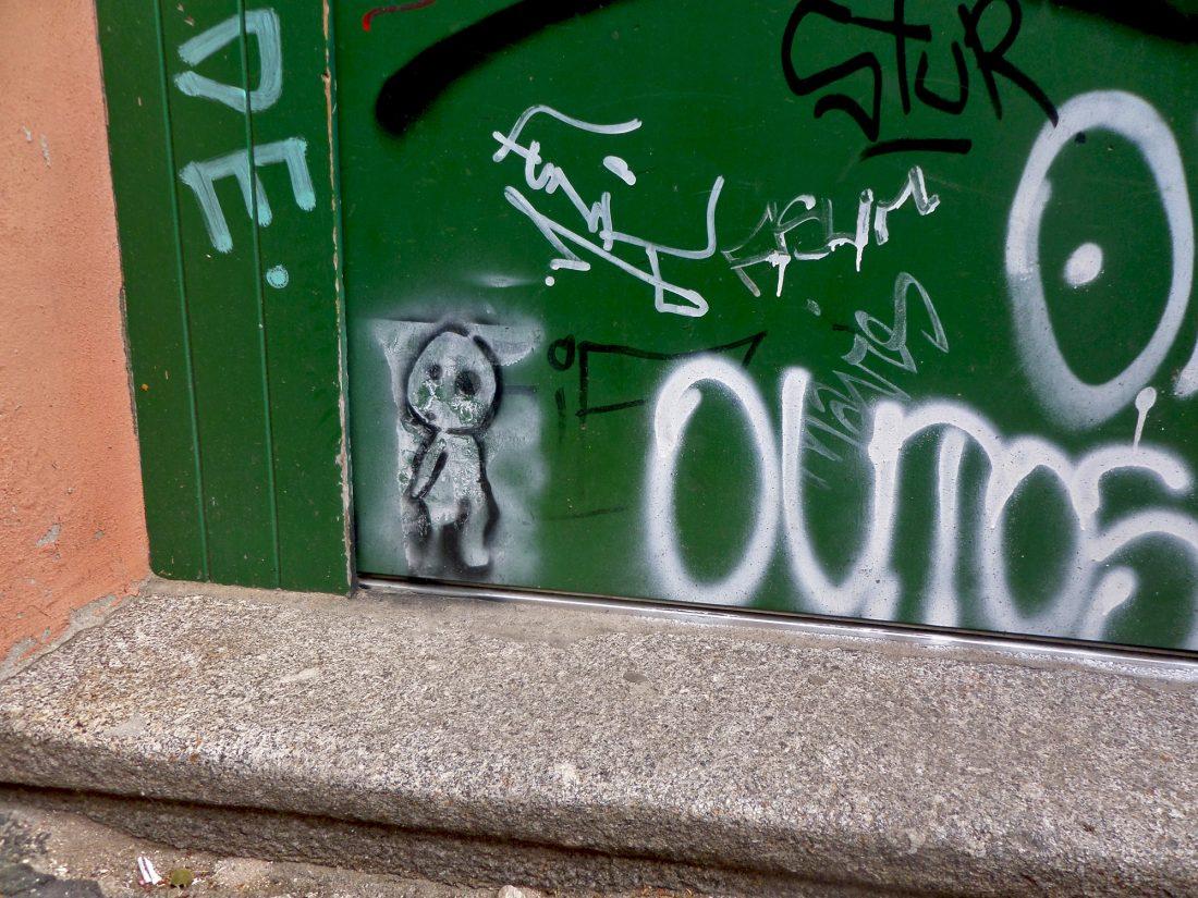 Street-Art: Stadtgeist in Halle, Unbekannte Künstler | © Lea Köhler