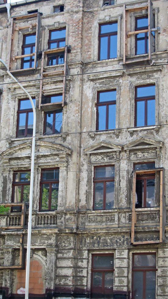 Gerahmte Fassade | © Louisa Engel